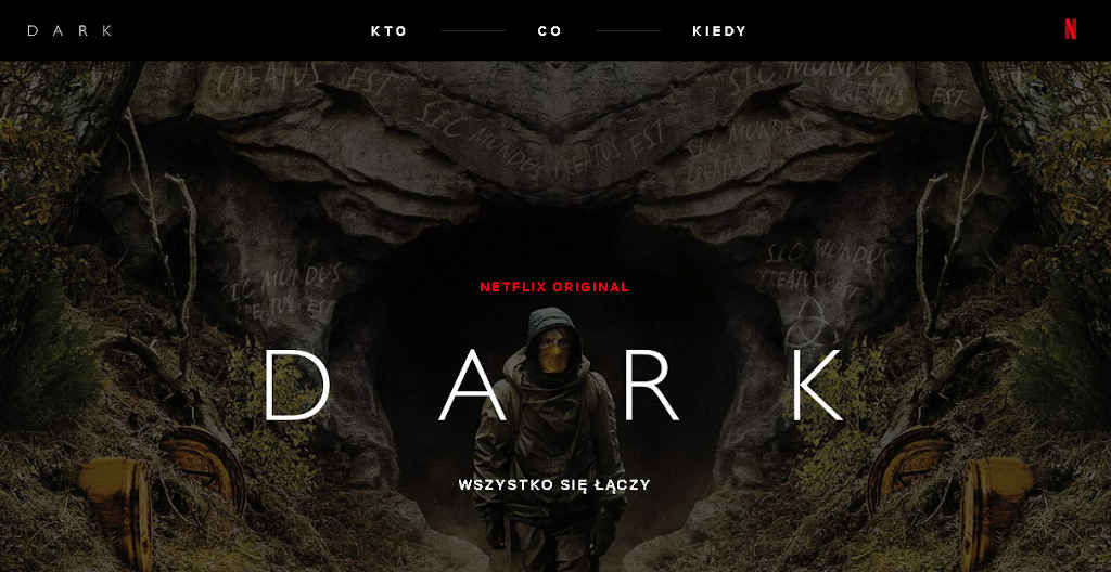 Netflix DARK strona internetowa top