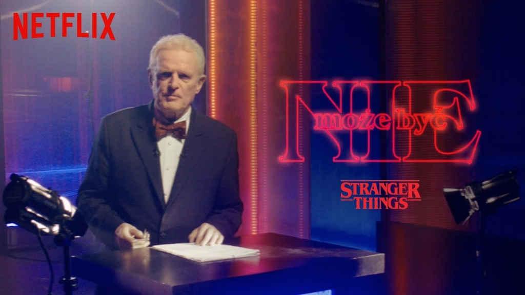 Netflix Nie może byc przypomnienie Stranger Things 1 i 2