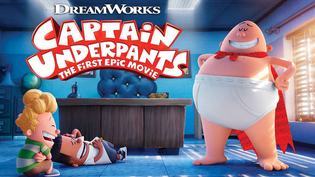 netflix Captain Underpants The First Epic Movie