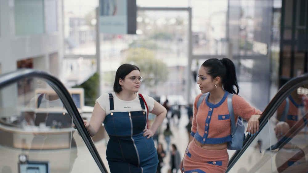 serial HBO Euforia Barbie Ferreira jako Kat oraz Alexa Demie jako Maddy